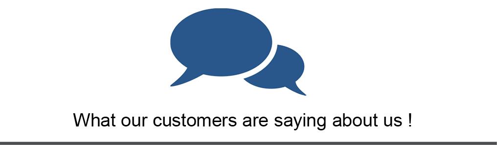 Testimonials customers Lingua Square
